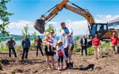 SAIT Partnership builds New Zero Carbon cottage at CottageClub